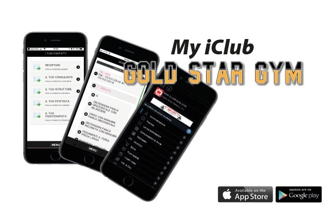 NUOVA APP GOLD STAR GYM - MY ICLUB